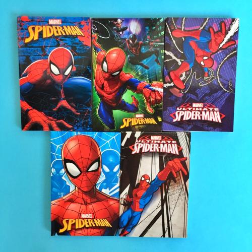 Spiderman İkili Bloknot Not Defteri