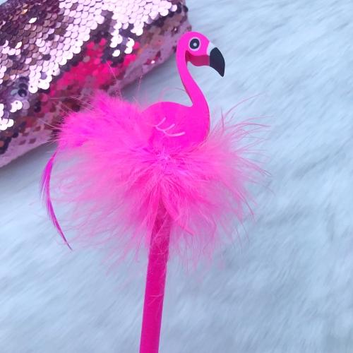 Pyrus Silgili Tropical Flamingo Kurşun Kalem