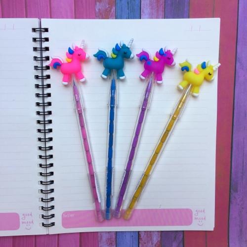 Renkli Unicorn Yumurtlayan Kalem