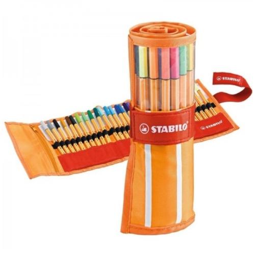 Stabilo Point 88 Roller Set 25+5 Renk Çantalı