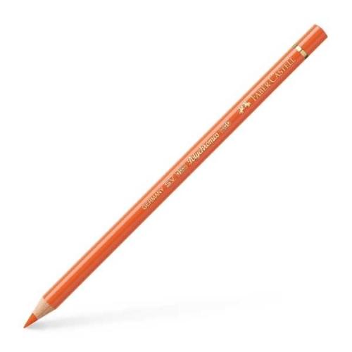 Faber Castell Polychromos Kuru Boya Kalemi Tekli - 113 Orange Glaze