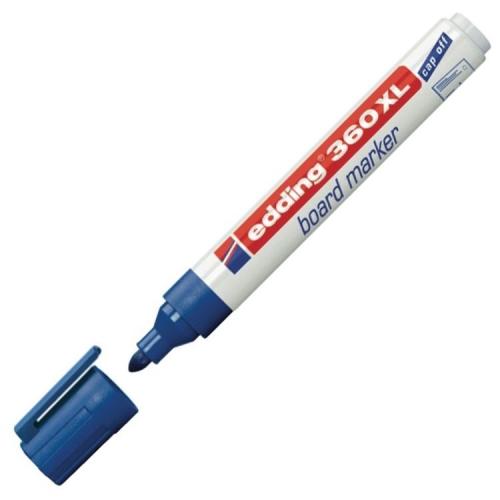 Edding 360 XL Doldurulabilir Beyaz Tahta Kalemi - Lacivert
