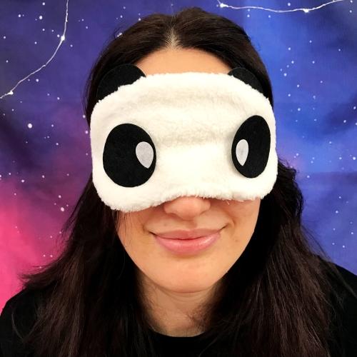 Ponçik Panda Peluş Uyku Bandı