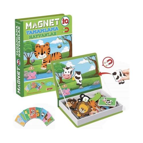 Magnetli Hayvan Tamamlama Oyunu
