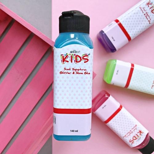 Artdeco Kids 140 Ml Jel Slime Yapıştırıcısı - Mavi