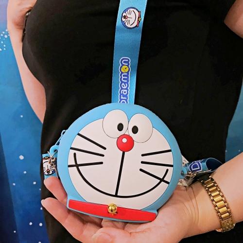 Doraemon Silikon Mini Çanta