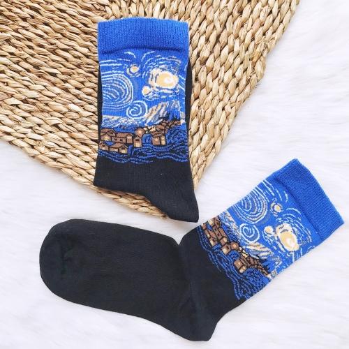 Yıldızlı Gece Çorap