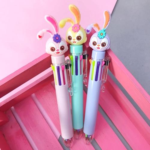 Minnoş Tavşan 8 Renk Tükenmez Kalem