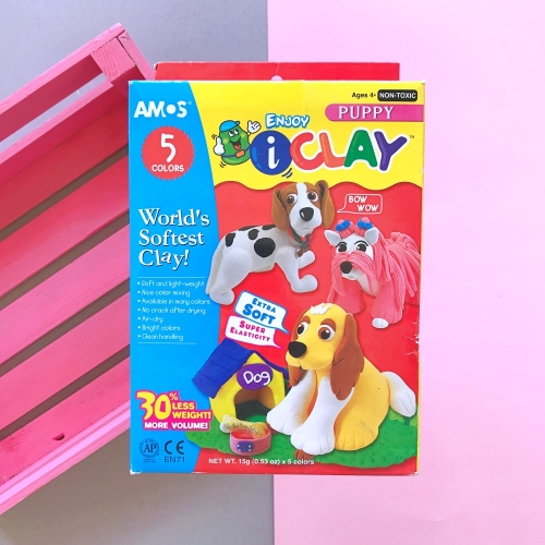 Amos I Clay Proje Hamuru Seti - Puppy