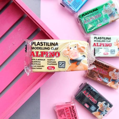 Alpino 50gr Modelling Clay Oyun Hamuru - Ten Rengi