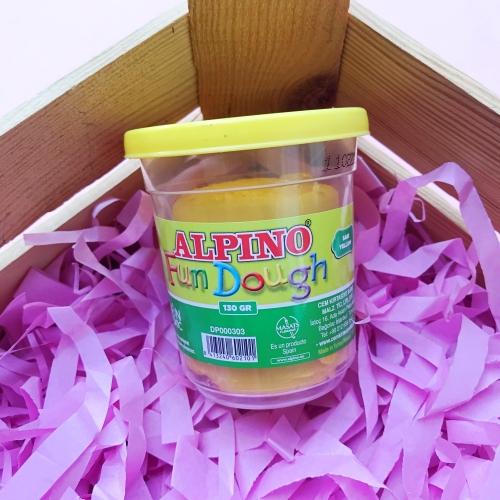 Alpino 130gr Oyun Hamuru - Sarı