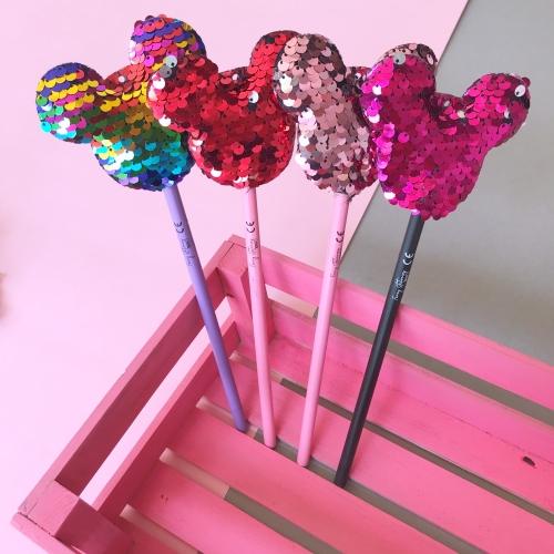 Renk Değiştiren Pullu Mickey Kurşun Kalem