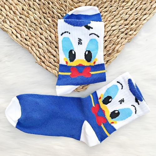 Donald Duck Desenli Çorap