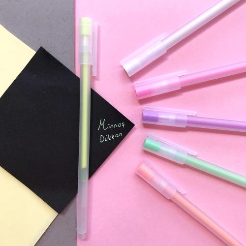 Neon Soft Renkli Jel Kalem- Sarı