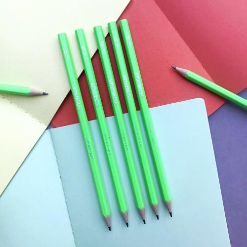 Staedtler Kurşun Kalem Neon HB Yeşil