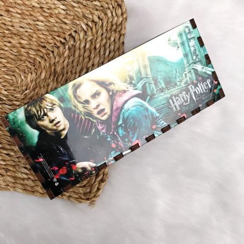 Harry Potter Mdf 4 Bölmeli Kalemlik