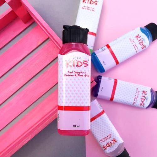 Artdeco Kids 140 Ml Jel Slime Yapıştırıcısı - Pembe