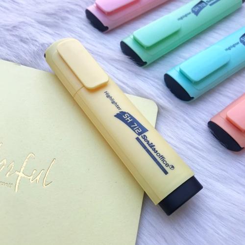 Scrikss Pastel Fosforlu İşaretleme Kalemi - Sarı