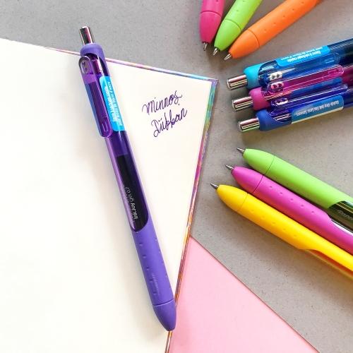 Paper Mate İnkjoy Gel Tükenmez Kalem - Mor