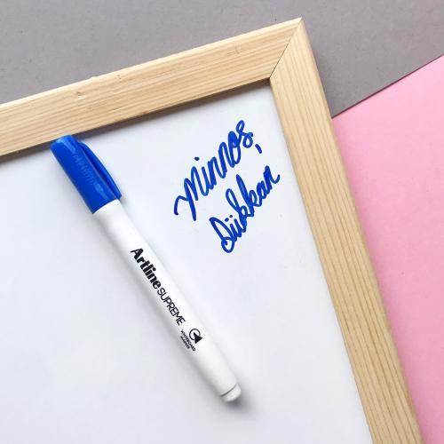 Artline Supreme Beyaz Tahta Kalemi - Mavi