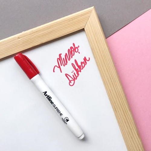 Artline Supreme Beyaz Tahta Kalemi - Kırmızı