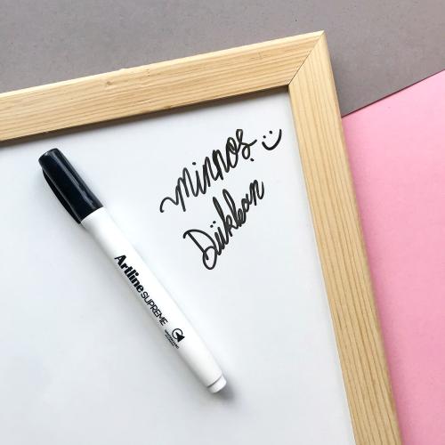 Artline Supreme Beyaz Tahta Kalemi - Siyah