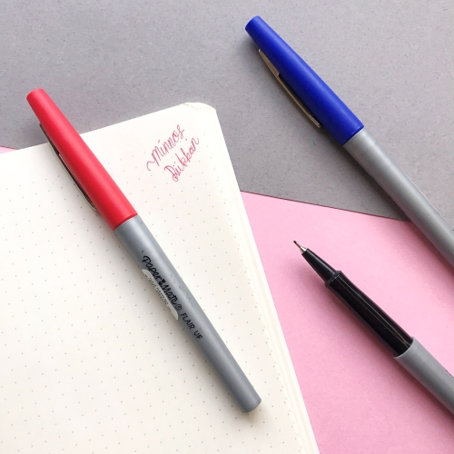 Paper Mate Flair Ultra Fine İnce Uç Kalem - Kırmızı