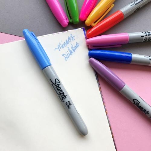 Sharpie Fine Point Permanent Marker - Açık Mavi