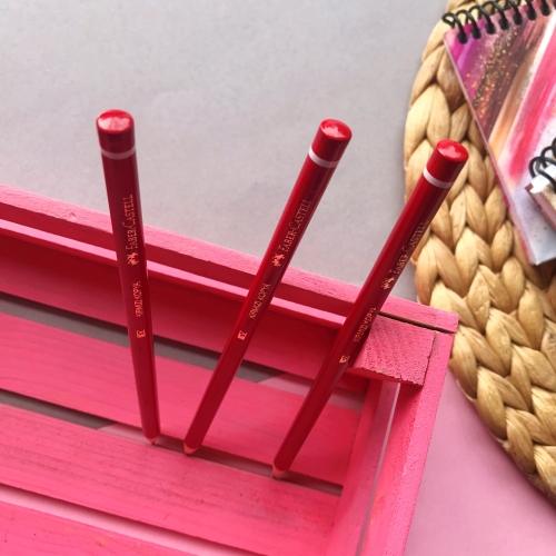 Faber Castell Kırmızı Kopya Kalemi