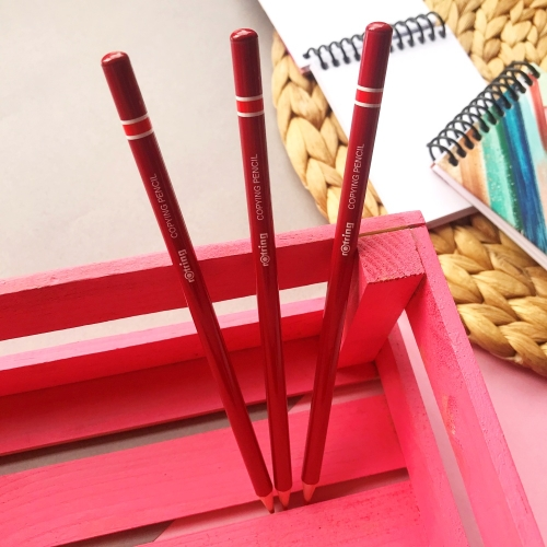 Rotring Kırmızı Kopya Kalemi