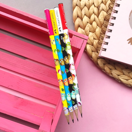 Faber Castell Baykuş Kurşun Kalem