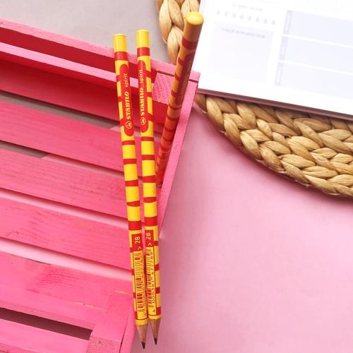 Stabilo Spirit Kurşun Kalem Sarı - Kırmızı