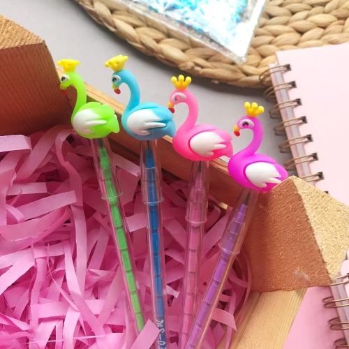 Renkli Flamingo Yumurtlayan Kalem
