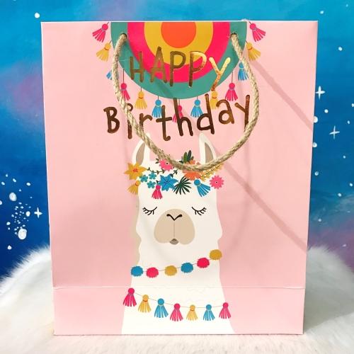 Happy Birthday Lama Hediye Çantası