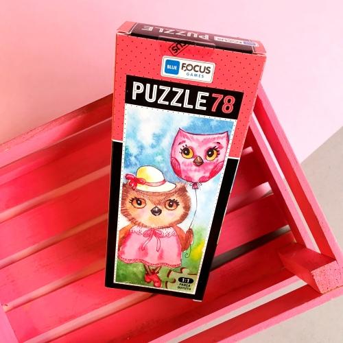 Pretty Owl 78 Parça Kutulu Puzzle