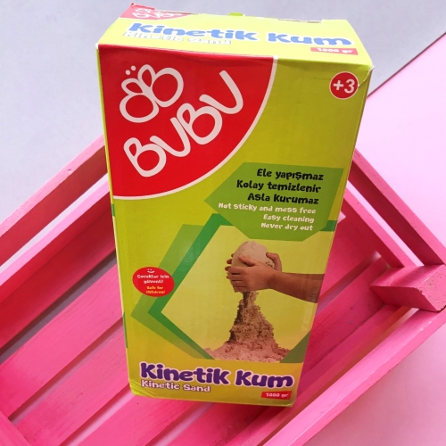 Bubu Kinetik Kum 1000 gr Natural