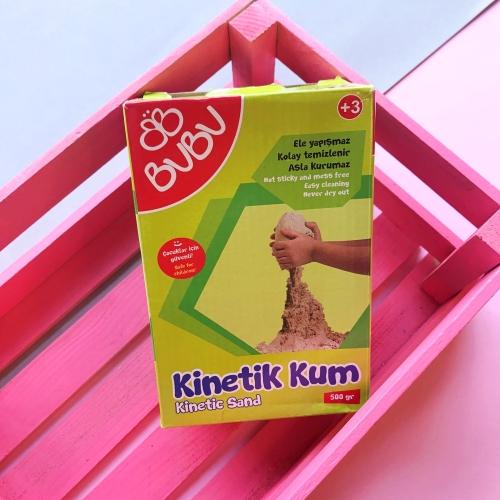 Bubu Kinetik Kum 500 gr Natural