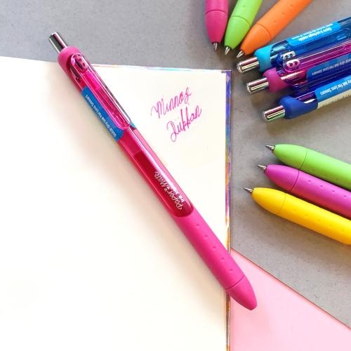 Paper Mate İnkjoy Gel Tükenmez Kalem - Şeker Pembe