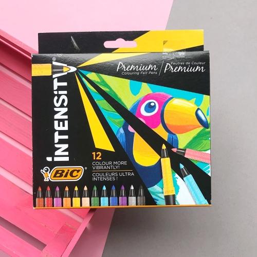 Bic Intensity Premium Keçeli Kalem 12 Renk