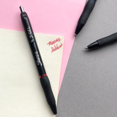 Sharpie S-GEL 0.7 Jel Kalem - Kırmızı