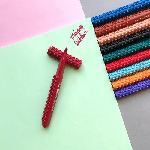 Artline Stix Coloring Marker Keçe Uçlu Kalem - Koyu Kırmızı