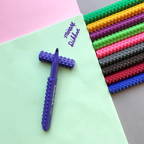 Artline Stix Coloring Marker Keçe Uçlu Kalem - Mor