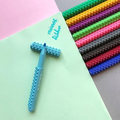 Artline Stix Coloring Marker Keçe Uçlu Kalem - Açık Mavi