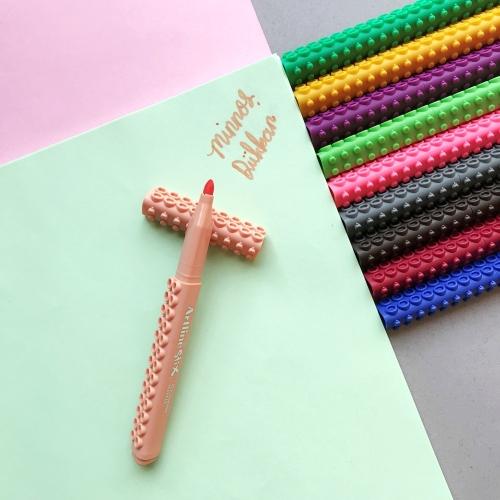 Artline Stix Coloring Marker Keçe Uçlu Kalem - Şeftali