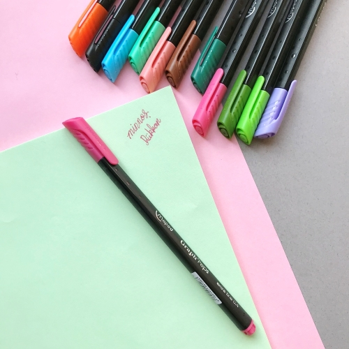 Maped Graph Peps Fineliner - 27 Lovely Pembe