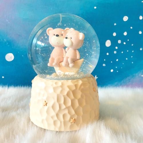 Ayıcıklar Büyük Boy Püskürtmeli Kar Küresi