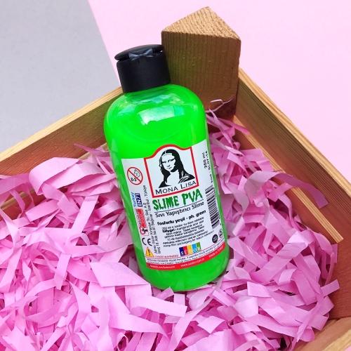 Mona Lisa 250 Ml Slime Yapıştırıcısı - Neon Yeşil