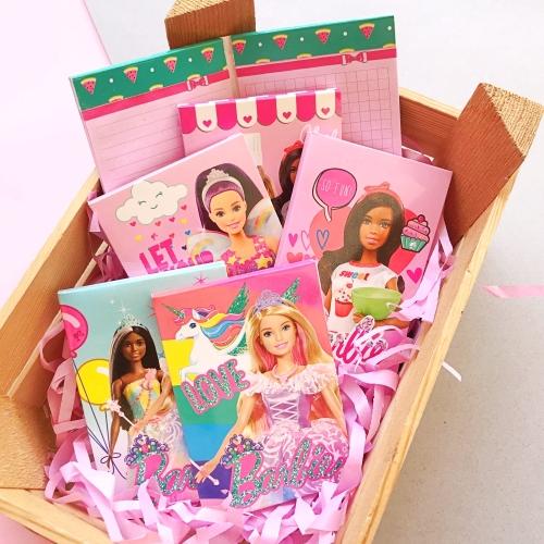 Barbie İkili A7 80 Yaprak Not Defteri