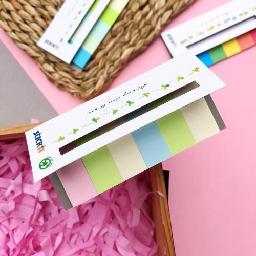 Stickn Yapışkanlı Index Ayraç Post-it - Pastel Renkler