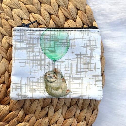 Balonlu Tembel Hayvan Bozuk Para Cüzdanı